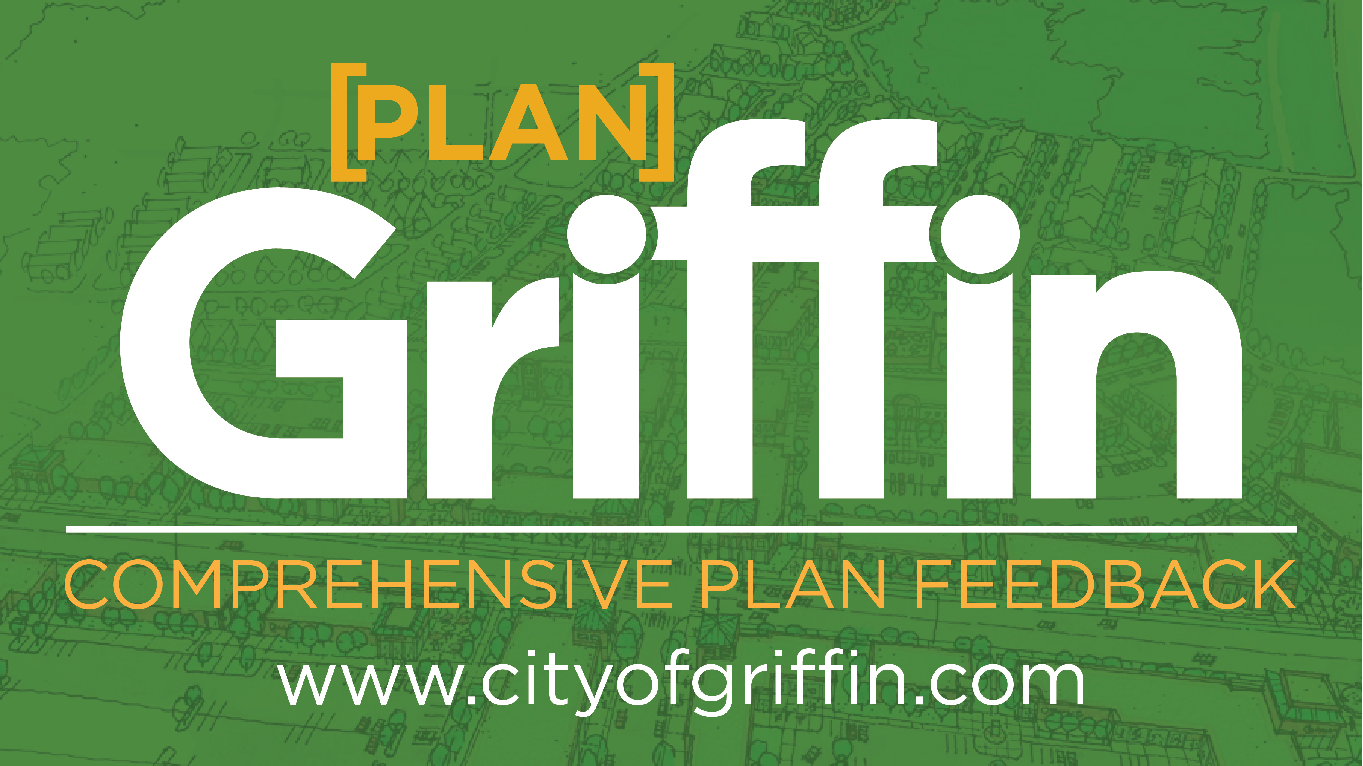 Griffin Logo the word Plan Comprehensive Plan Feedback