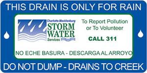 Storm Drain Marking Logo